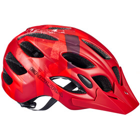 Endura Hummvee Casco, red
